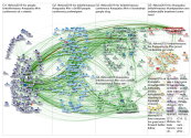 #BHIVA2019 Twitter NodeXL SNA Map and Report for Wednesday, 03 April 2019 at 20:38 UTC