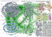 #ECCMID2019 3-17 April 2019 Twitter NodeXL SNA Map and Report for Wednesday