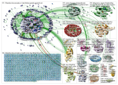 23andme Top 20 Groups Twitter NodeXL SNA Map and Report for Tuesday, 18 June 2019 at 16:20 UTC