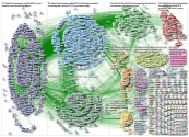 #aha19 OR #aha2019 since:2019-11-17 until:2019-11-18 Twitter NodeXL SNA Map and Report for Monday, 1