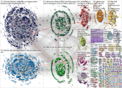 #ddj Twitter NodeXL SNA Map and Report for Monday, 16 December 2019 at 15:18 UTC