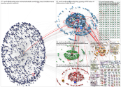 #ranNFL Twitter NodeXL SNA Map and Report for Friday, 20 December 2019 at 13:55 UTC