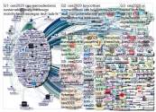 """@CES"" Twitter NodeXL SNA Map and Report for Monday, 06 January 2020 at 16:01 UTC"