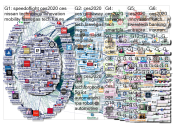 """@CES"" Twitter NodeXL SNA Map and Report for Friday, 17 January 2020 at 15:36 UTC"