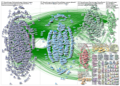 8 weeks of #SoMe4Surgery Twitter NodeXL SNA Map and Report for Tuesday, 17 March 2020 at 07:39 UTC
