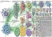 #foamed OR #foamrad OR #meded OR #medtwitter Twitter NodeXL SNA Map and Report for Monday, 27 April