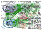 aejmc Twitter NodeXL SNA Map and Report for Tuesday, 07 July 2020 at 17:22 UTC