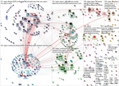 AEJMC Twitter NodeXL SNA Map and Report for Monday, 03 August 2020 at 16:05 UTC